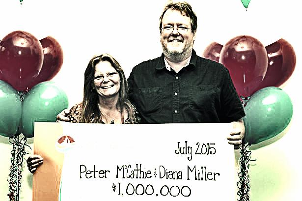 Peter McCathie lottery winner